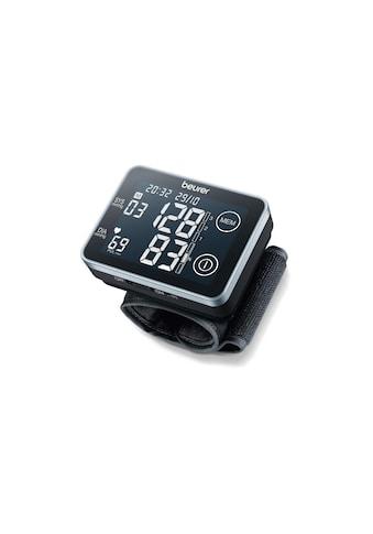 BEURER Handgelenk-Blutdruckmessgerät »BC58«, Abschaltautomatik, Arrhythmie-Erkennung,... kaufen