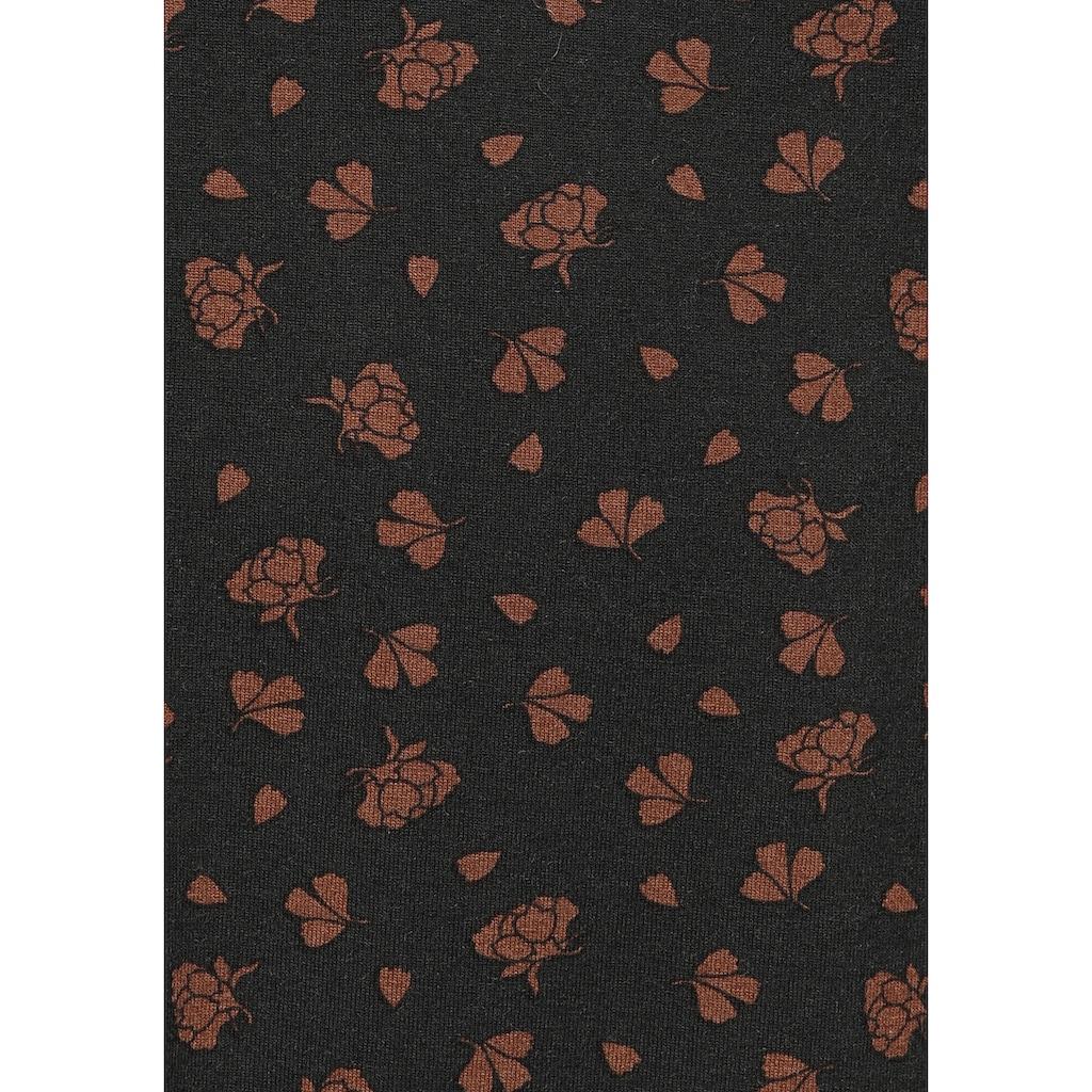 Boysen's Jerseykleid, mit eckigem Ausschnitt