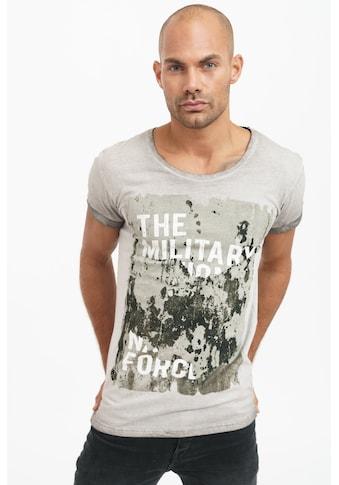 trueprodigy T-Shirt »Dane«, mit grossem Frontprint im Used-Look kaufen