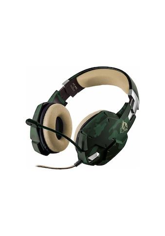Headset, Trust, »GXT 322C Grün Mehrfarbig« kaufen