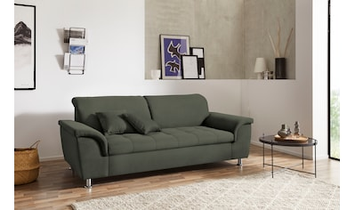 DOMO collection 2,5-Sitzer »Franzi«, wahlweise mit Kopfteilverstellung, inklusive... kaufen