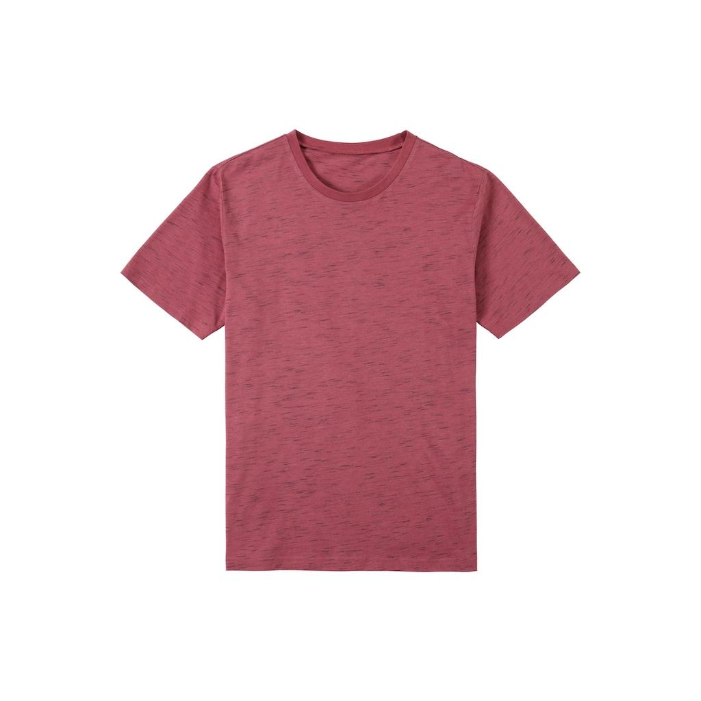s.Oliver Bodywear T-Shirt »Homewear«, alle Farben in schöner Melange-Optik