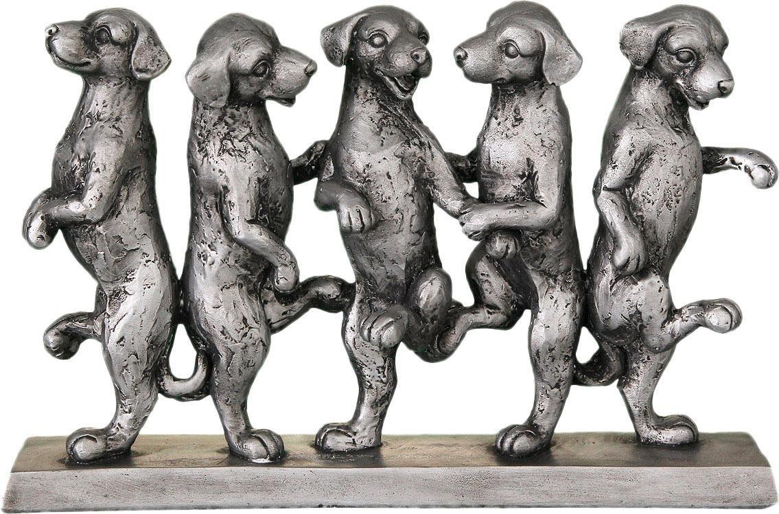 Image of Ambiente Haus Dekofigur »Hunde Tanz«