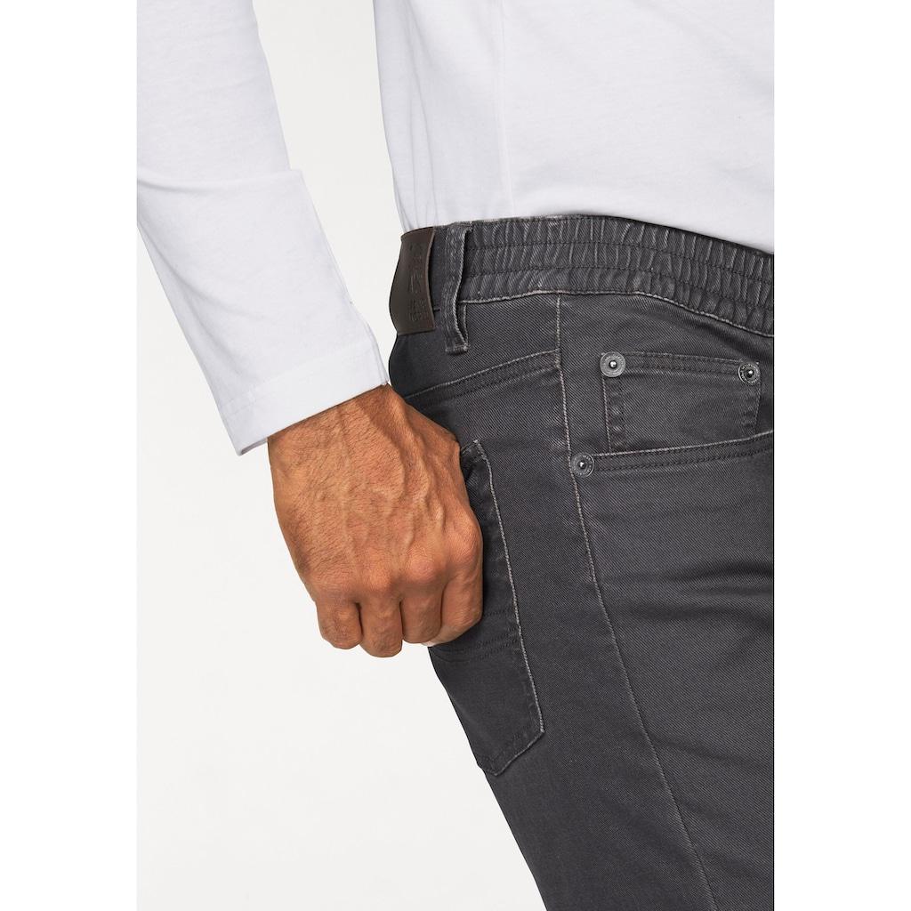 Man's World Dehnbund-Hose, Stretch - bequem mit seitlichem Gummizug