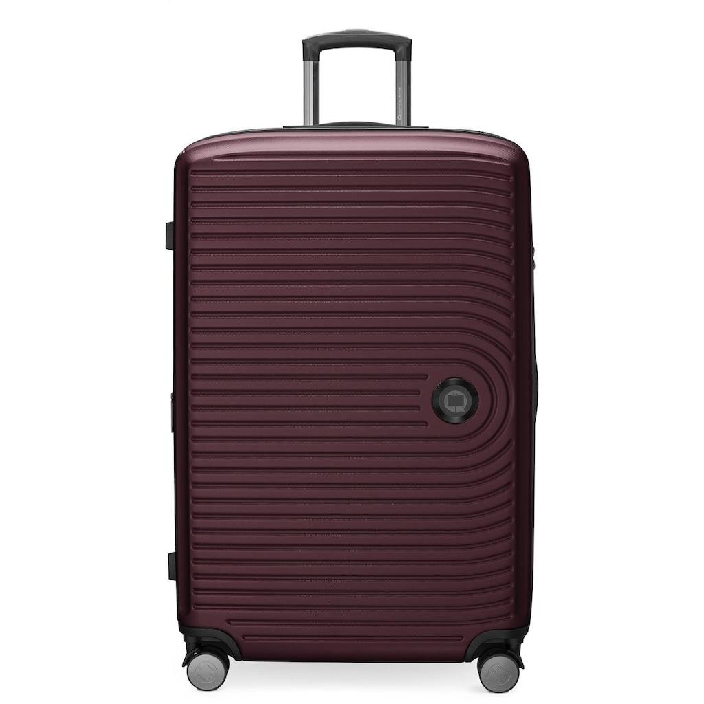 Hauptstadtkoffer Hartschalen-Trolley »Mitte, 77 cm, burgund«, 4 Rollen
