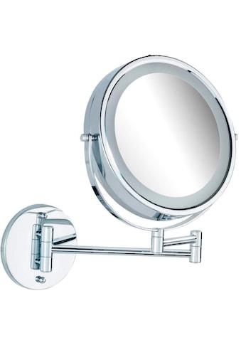 WENKO Wandspiegel »Lumi«, 5-fach Vergrösserung kaufen