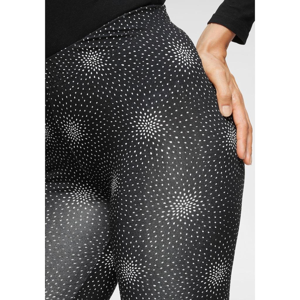 Boysen's Leggings, mit Alloverdruck