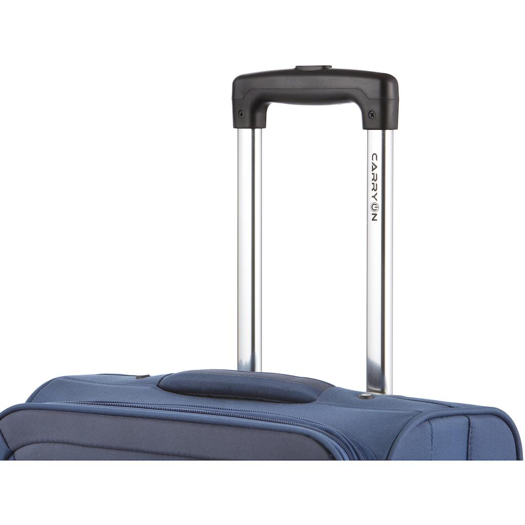 CARRYON Handgepäck-Trolley »Underseat, 42 cm«, 2 Rollen