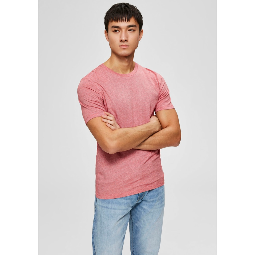 SELECTED HOMME T-Shirt »THE PERFECT MEL O-NECK TEE«
