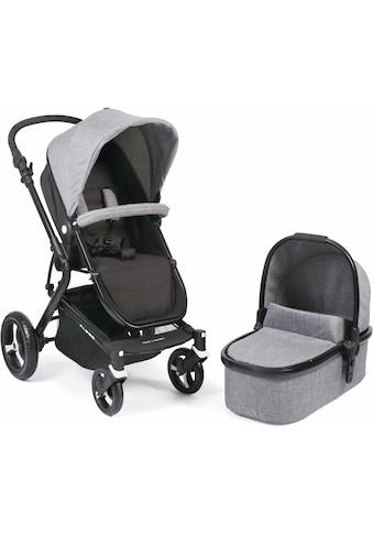 CHIC4BABY Kombi-Kinderwagen »Passo, grau«, 15 kg, ; Kinderwagen kaufen