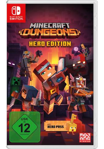 Nintendo Switch Spiel »Minecraft Dungeons«, Nintendo Switch kaufen