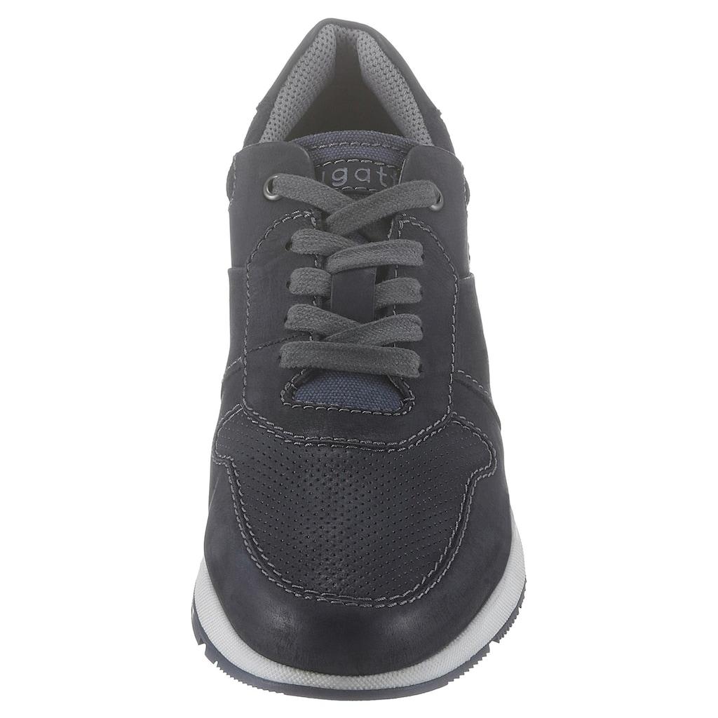 bugatti Sneaker, mit dezenter Perforierung