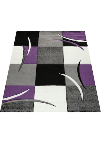 Teppich, »Diamond 665«, Paco Home, rechteckig, Höhe 18 mm, maschinell gewebt kaufen