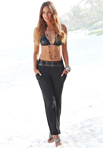 LASCANA Strandhose, mit Häkelbund kaufen