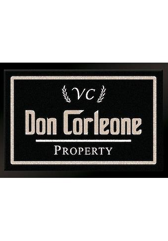 HANSE Home Fussmatte »Don Corleone - Mafia«, rechteckig, 7 mm Höhe, Schmutzfangmatte kaufen