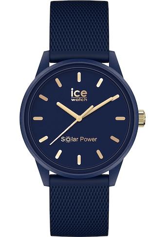 ice-watch Solaruhr »ICE solar power - Navy goldfarben, 018743« kaufen