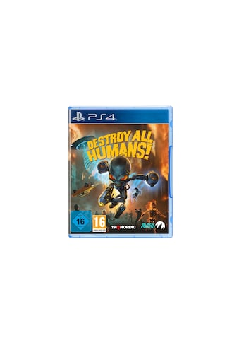 THQ Spiel »Destroy all Humans!«, PlayStation 4, Standard Edition kaufen