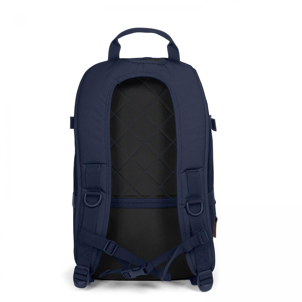 Eastpak Laptoprucksack »BORYS, Mono Night«, enthält recyceltes Material (Global Recycled Standard)