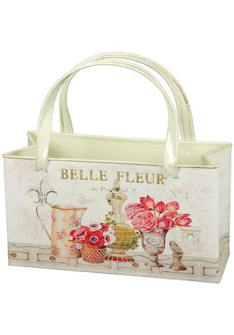 Ambiente Haus Übertopf »Fleur-Tasche aus Metall«, (1 St.) kaufen