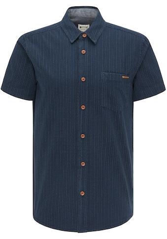 MUSTANG Kurzarmhemd »Chris Multi Dobby« kaufen