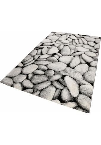 Wecon home Teppich »Stony Island«, rechteckig, 13 mm Höhe, Wohnzimmer kaufen