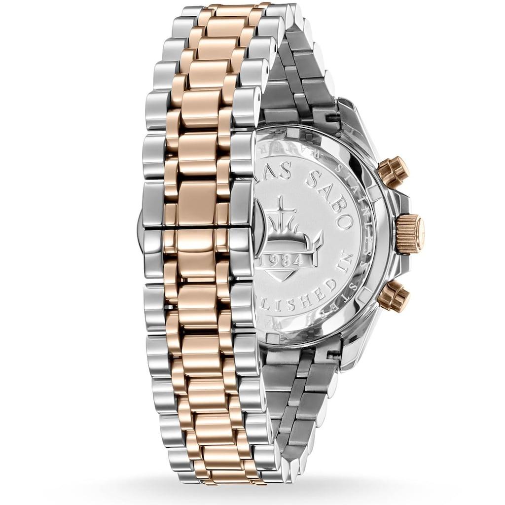 THOMAS SABO Chronograph »DIVINE CHRONO, WA0221-272-201«