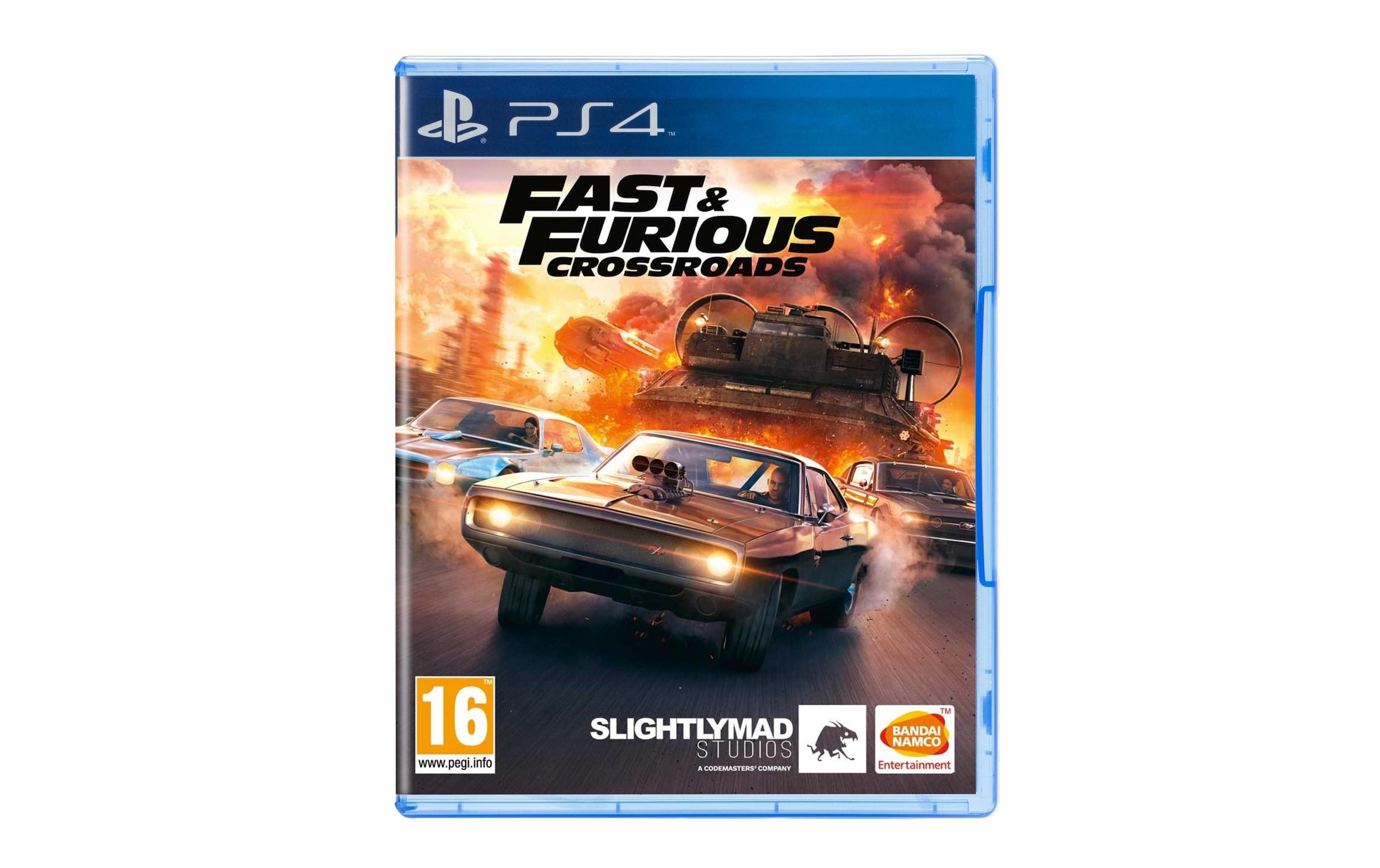 Image of BANDAI NAMCO Spiel »Fast & Furious Crossroads«, PlayStation 4