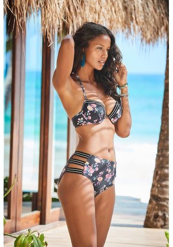 JETTE Highwaist-Bikini-Hose, mit goldfarbenenem Lurexfaden kaufen