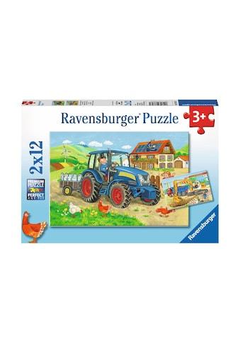 Ravensburger Puzzle »Baustelle und Bauernhof« kaufen