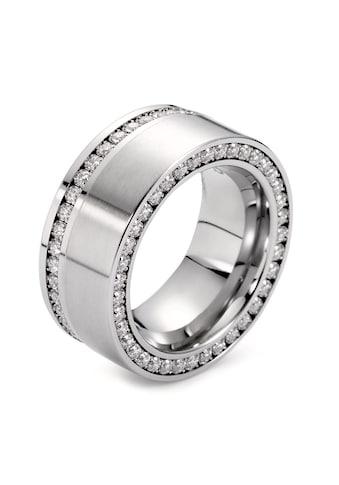 Fingerring Edelstahl Strass Crystal kaufen