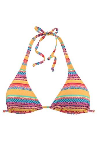 Buffalo Triangel-Bikini-Top »Lux«, mit Ethno-Druck kaufen