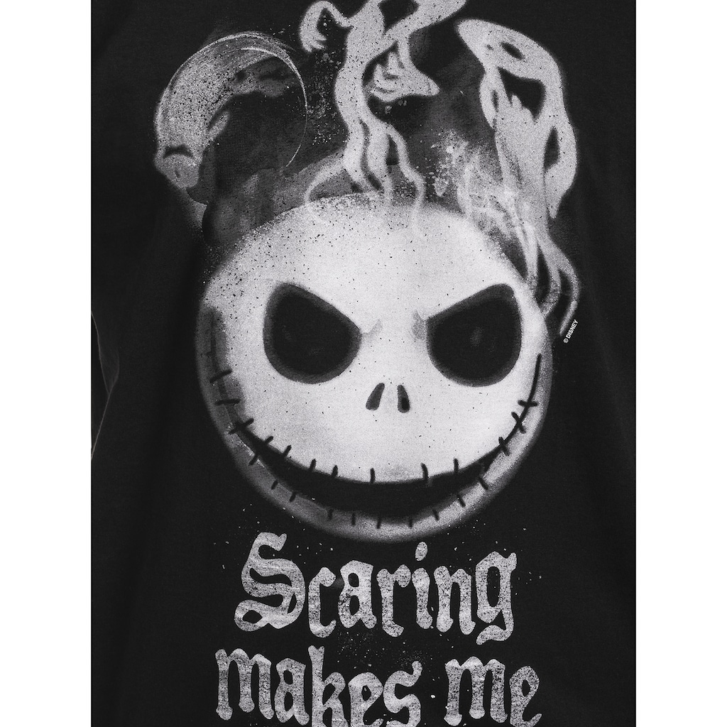 Disney T-Shirt »The Nightmare Before Christmas Scaring Makes Me Smile«