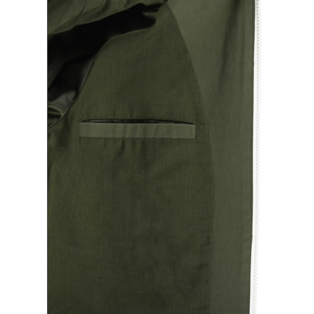 Blendshe Kurzjacke »Bibi«, Übergangsjacke mit kontrastfarbenen Reissverschlüssen
