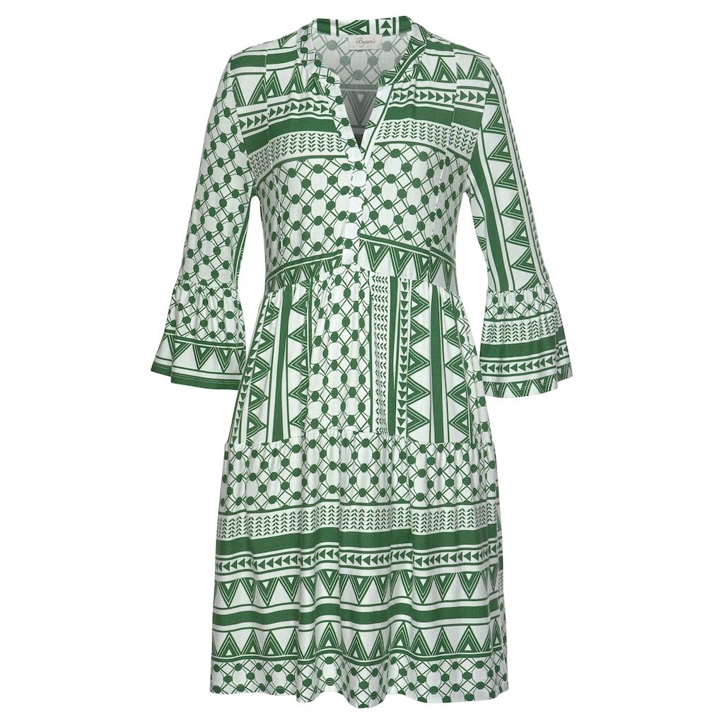 Boysen's Jerseykleid, mit Volants