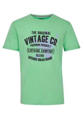 Blend T-Shirt »Blend Herren T-Shirt mit Druck«, Herren T-Shirt kaufen