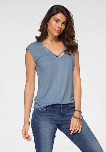 Boysen's T-Shirt, mit Zierband kaufen