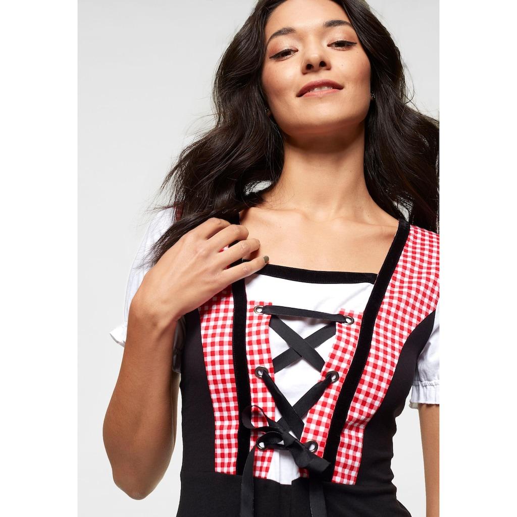 AJC Jerseykleid, in Dirndl-Optik für das Oktoberfest oder Fasching