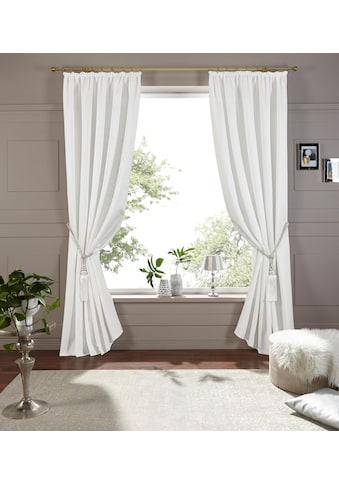DELAVITA Vorhang »Lora«, inkl. Raffhalter kaufen