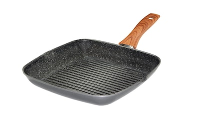 STONELINE Grillpfanne »Back to Nature«, Aluminium, Ø 28 cm, 2 Ausgüsse, Induktion kaufen