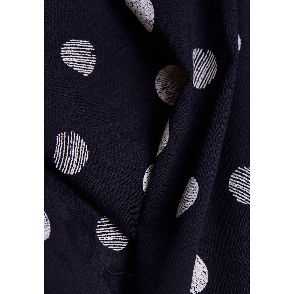 Esprit T-Shirt, mit schönem Punkte-Print
