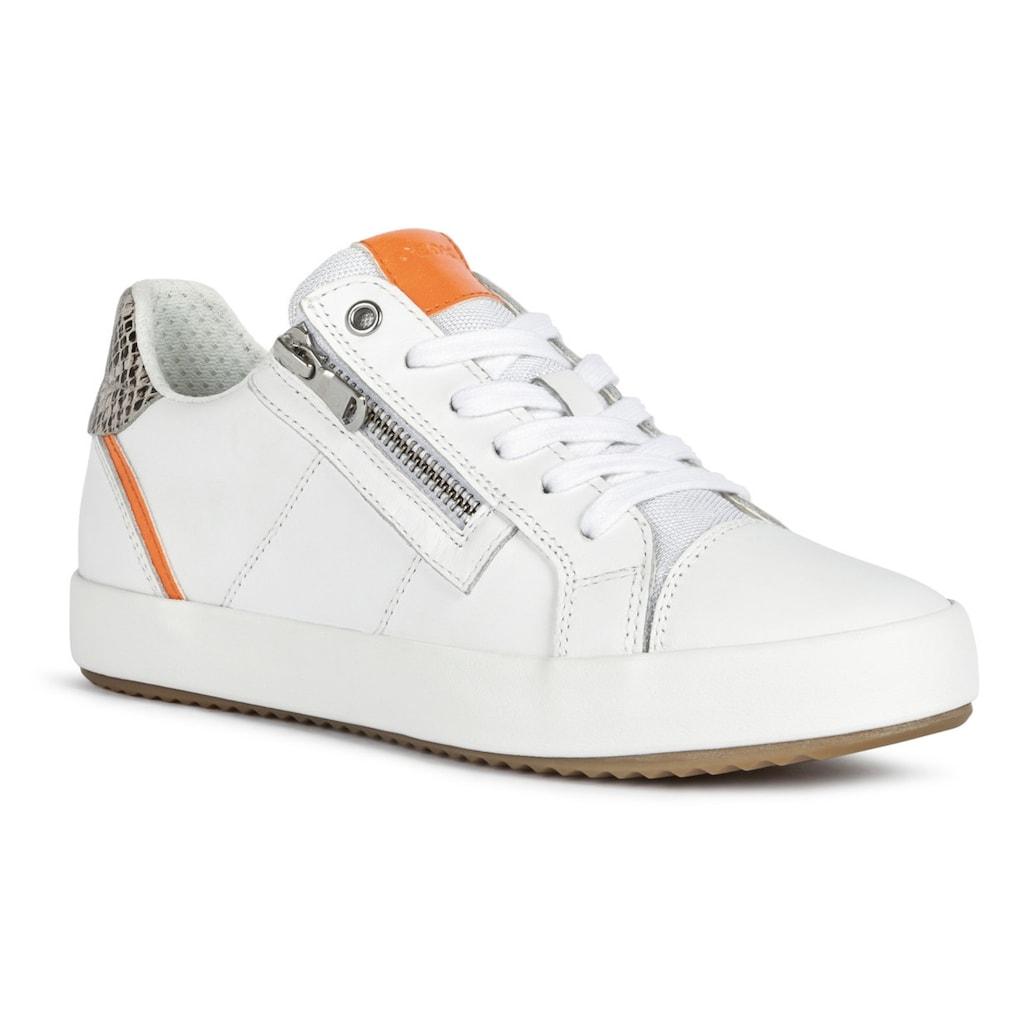 Geox Sneaker, mit seitlichem Reissverschluss