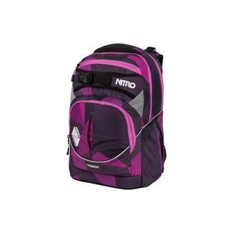 Schulthek, Nitro, »Superhero Fragments Purple« kaufen