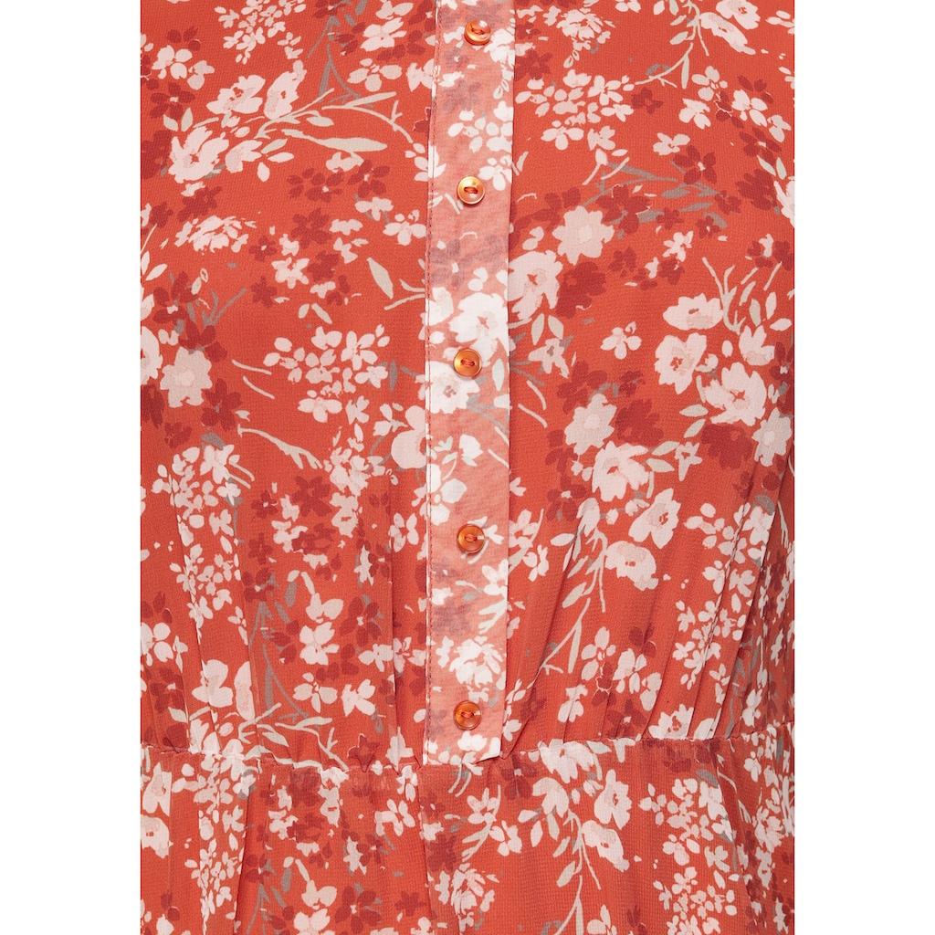 Tamaris Chiffonkleid, mit Blumenprint