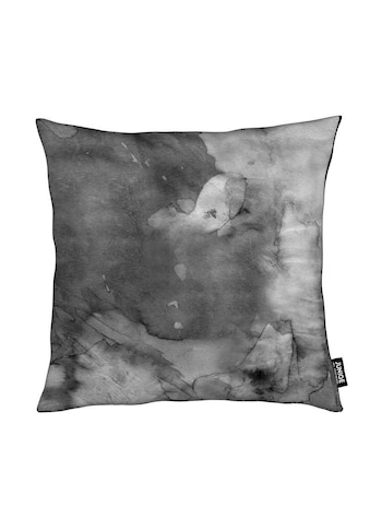 Juniqe Dekokissen »Dark Watercolor«, Weiches, allergikerfreundliches Material kaufen
