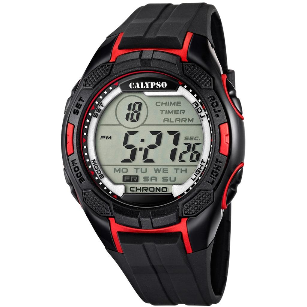 CALYPSO WATCHES Chronograph »Digital For Man, K5627/3«