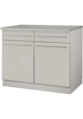 wiho Küchen Unterschrank »Chicago«, 100 cm breit, 2 Schubkästen und 2 Türen, für viel... kaufen