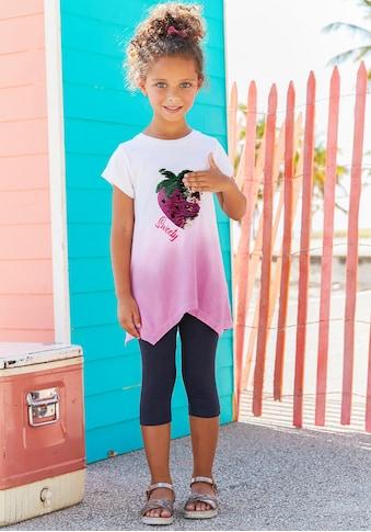 KIDSWORLD Shirt & Leggings, mit Wendepailletten kaufen
