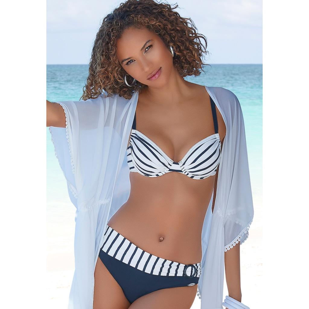 Sunflair Bügel-Bikini, mit Ziergürtel vorn