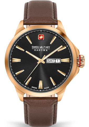 Swiss Military Hanowa Schweizer Uhr »DAY DATE CLASSIC, 06-4346.31.007« kaufen