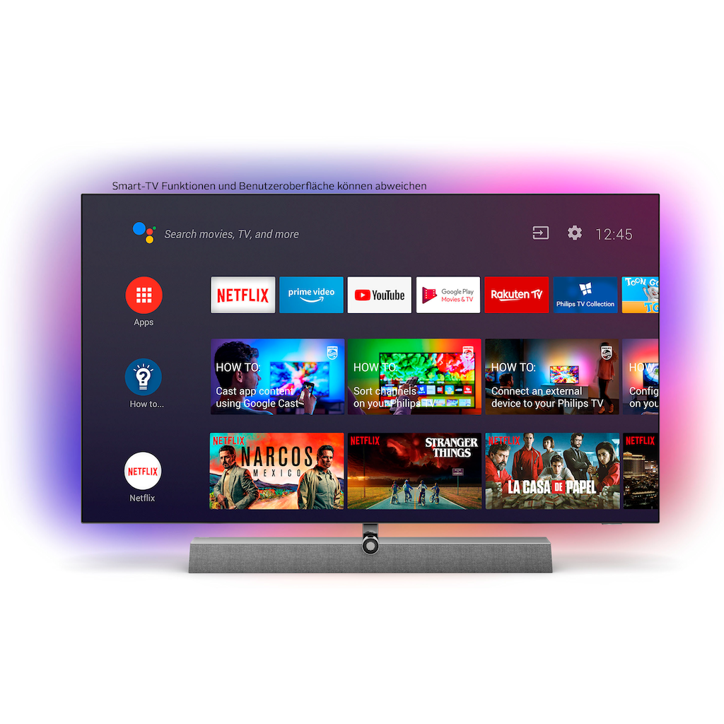 "Philips OLED-Fernseher »48OLED935/12«, 121 cm/48 "", 4K Ultra HD, Smart-TV"